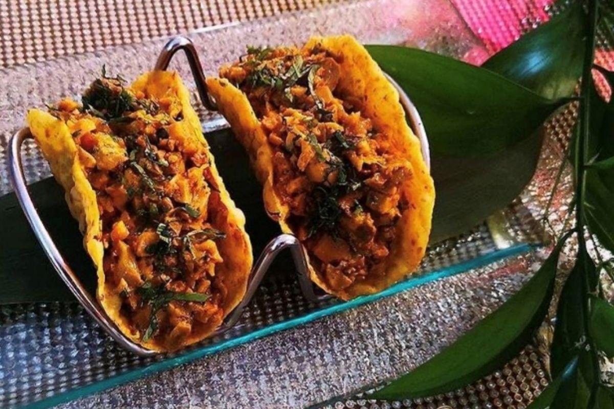 Tacos indios, en Swagat.