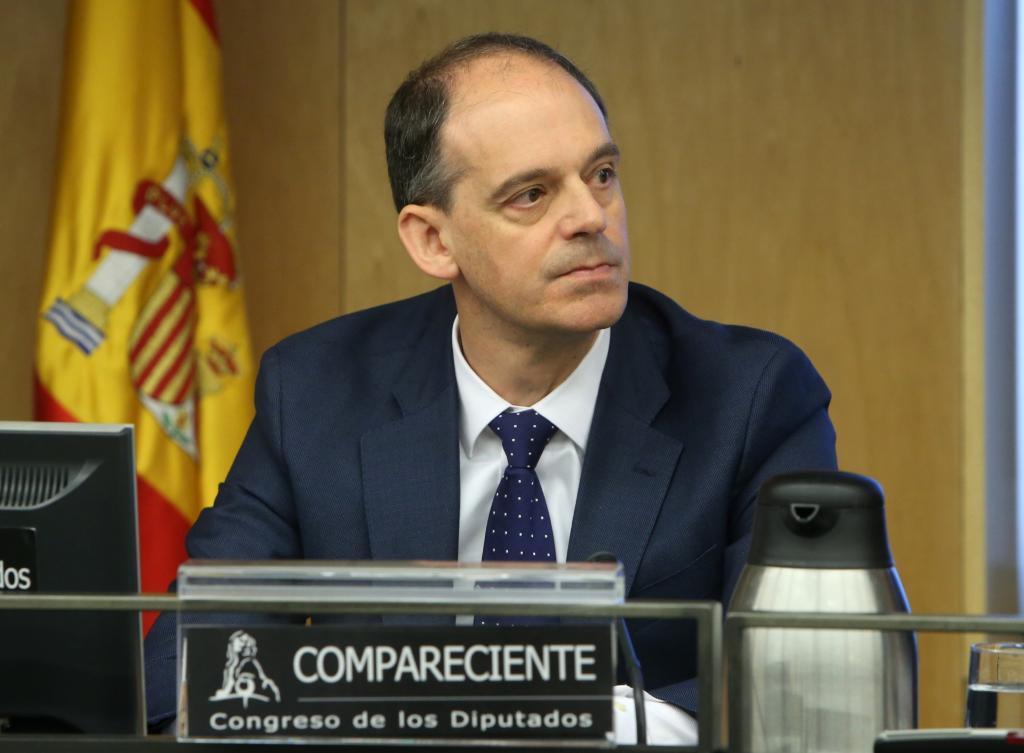 Manuel Morocho, durante una comparecencia en el Congreso.