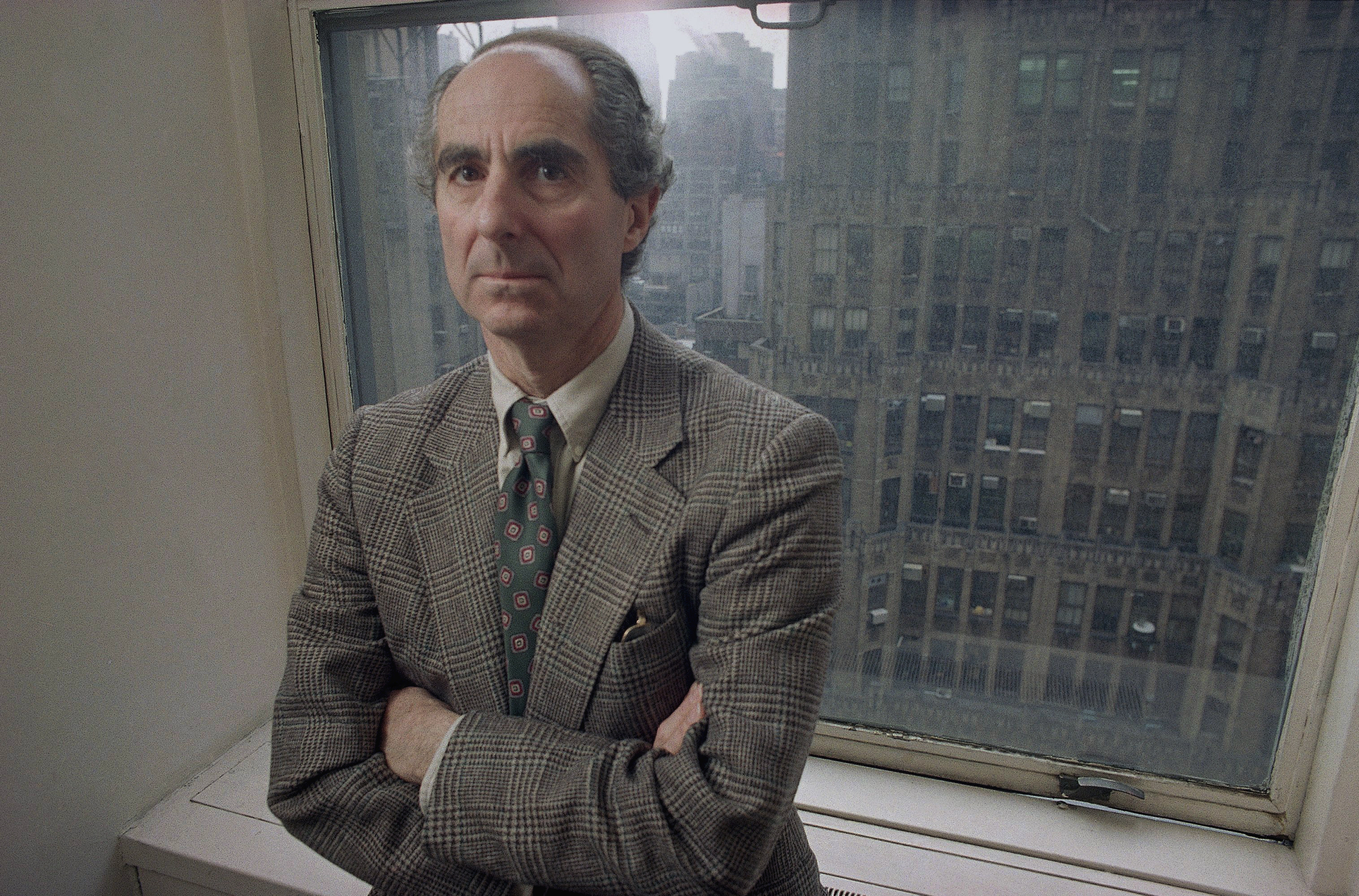 Philip Roth, en 1993.