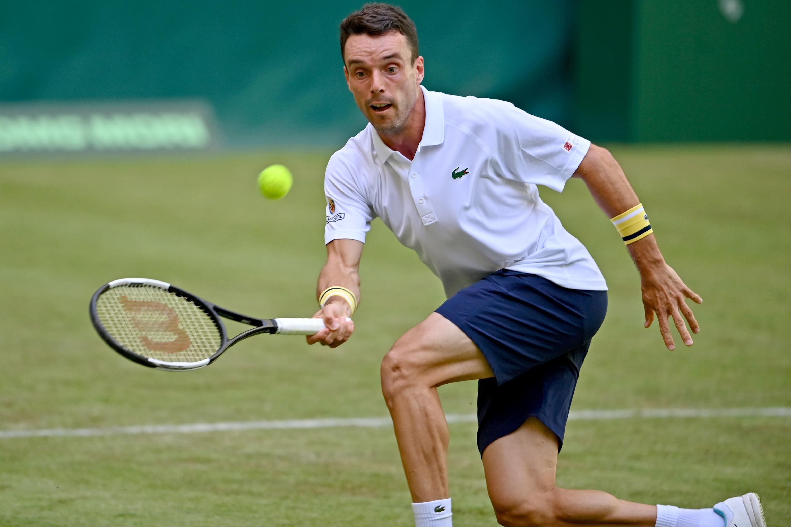 Bautista  durante el Noventi Open