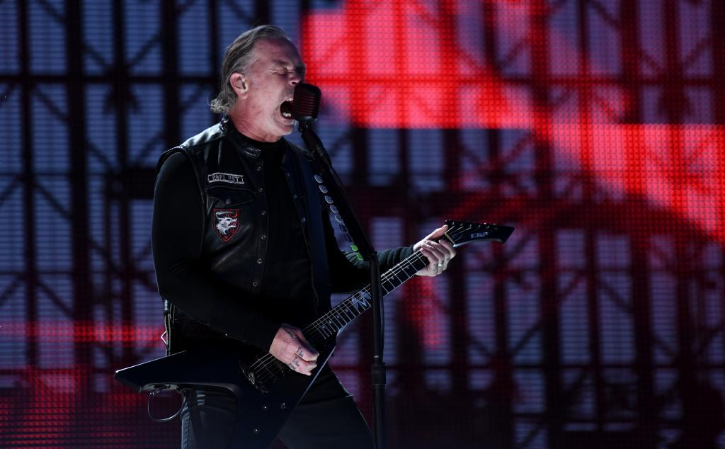 Metallica, en Madrid, en 2019.