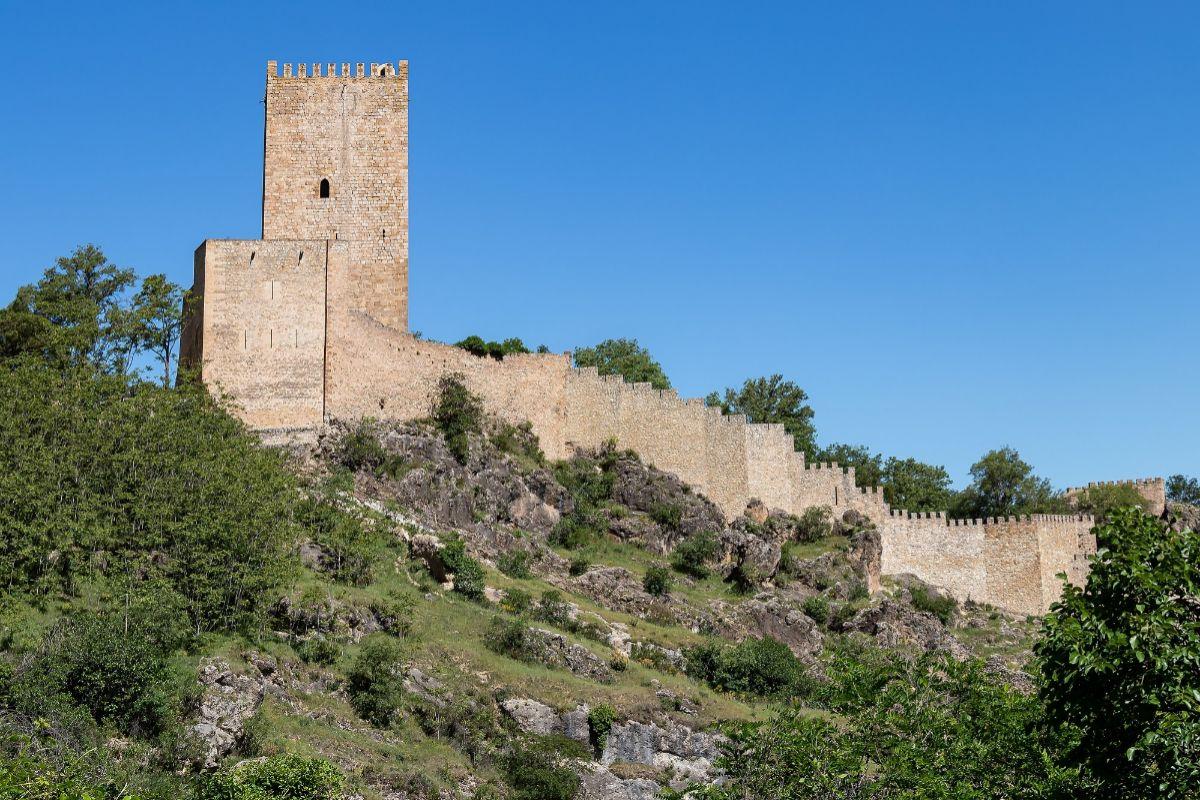 Castillo de Yedra.