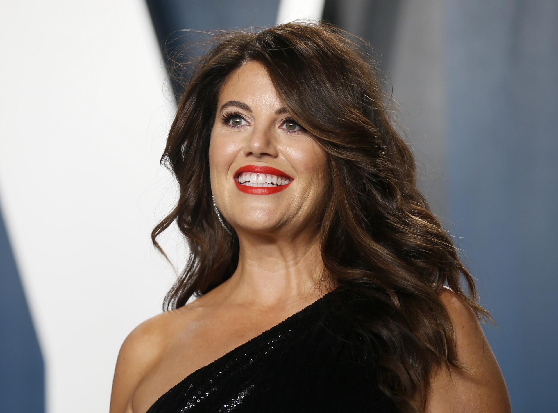 Monica Lewinsky, en la fiesta de 'Vanity Fair' los Oscar en febrero de 2020.