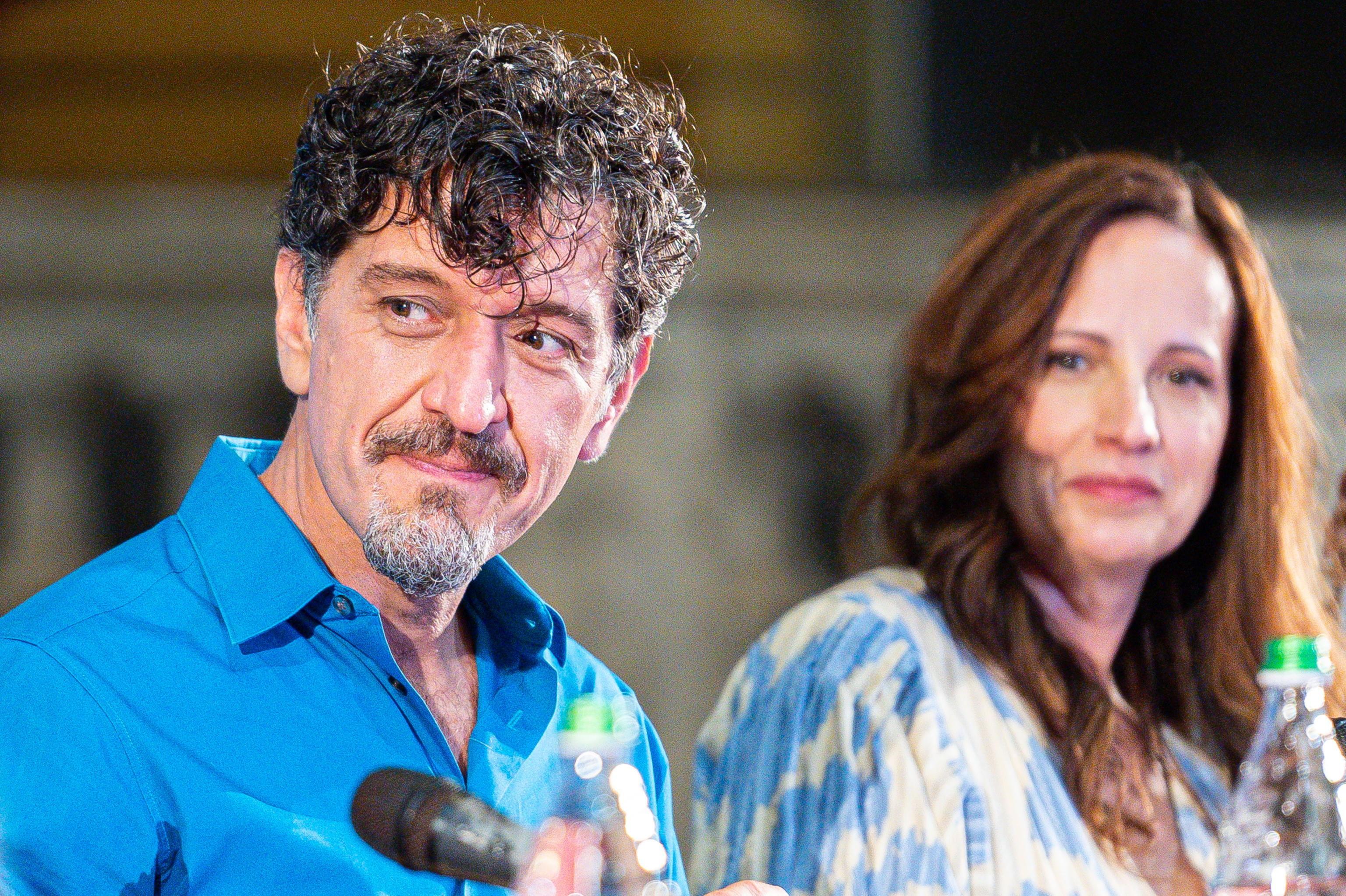 El director Enrico Casarosa.