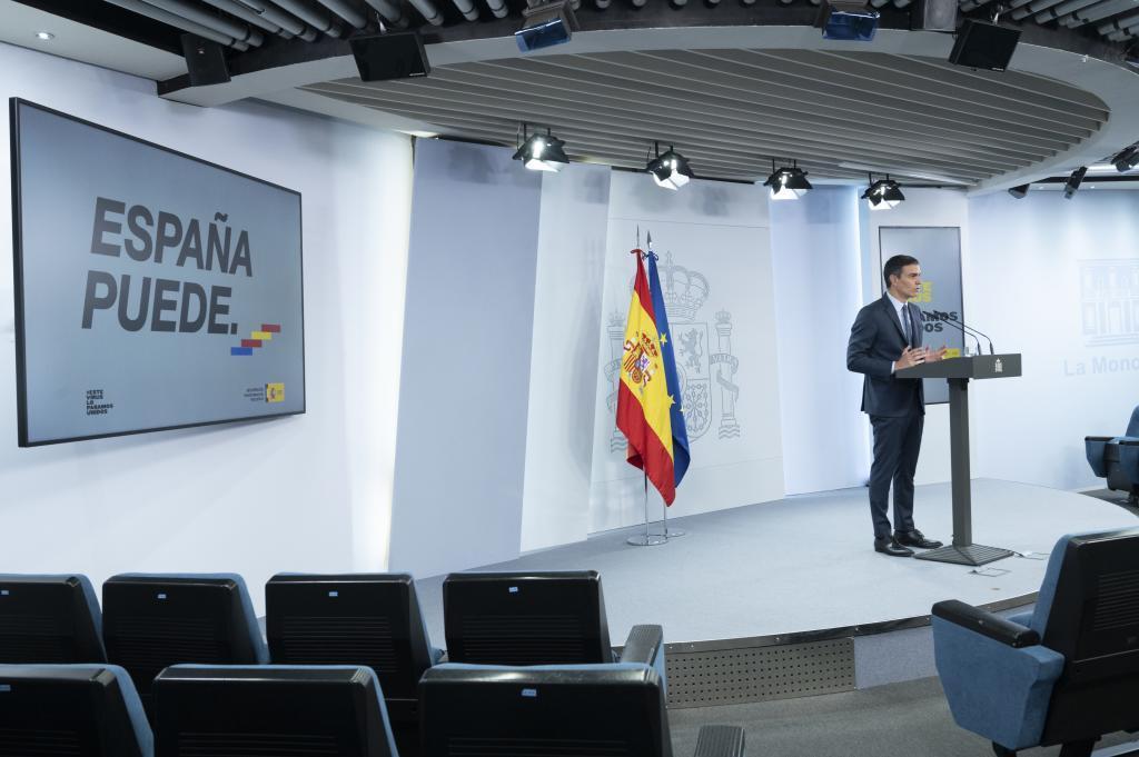Sánchez, durante la presentación del Plan.