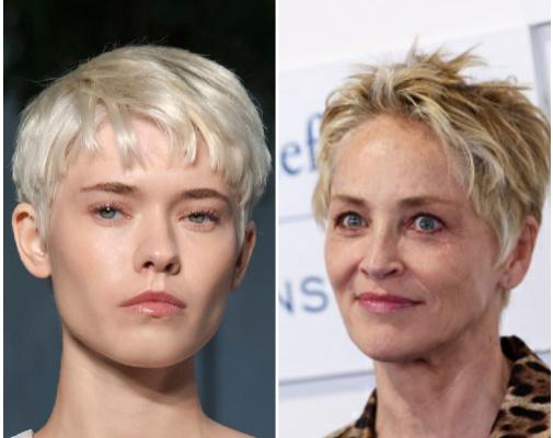 Los cortes de pelo de tendencia más cómodos del verano, de lavar y listo: el pixie de Sharon Stone.
