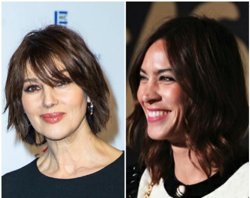 Los cortes de pelo más cómodos del verano, de lavar y listo: shags de Monica Bellucci y Alexa Chung.