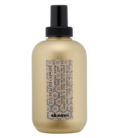 Los cortes de pelo más cómodos del verano, de lavar y listo: para ondas, Sea Salt Spray de Davines
