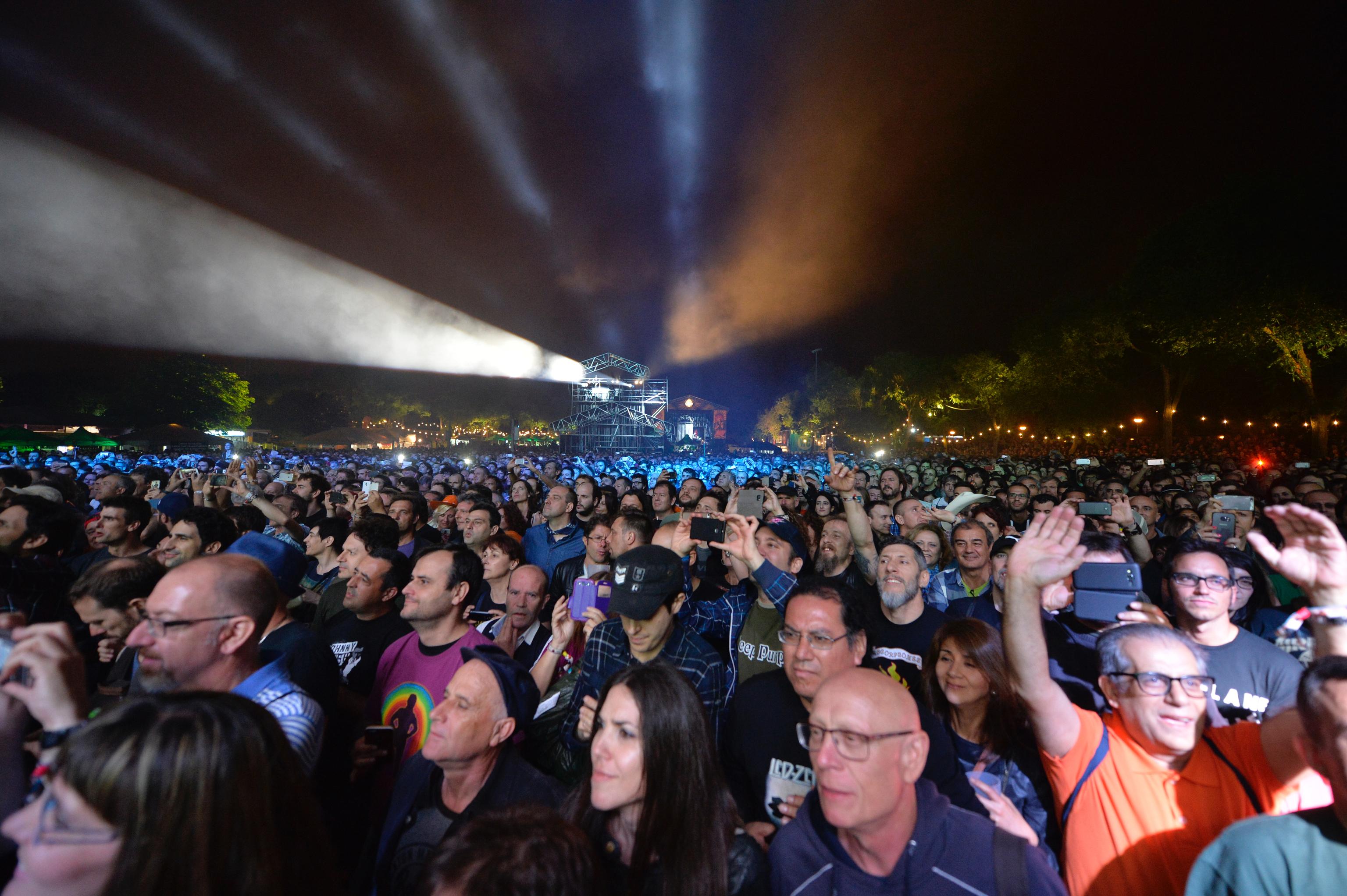 Público de una edición anterior del festival Azkena Rock
