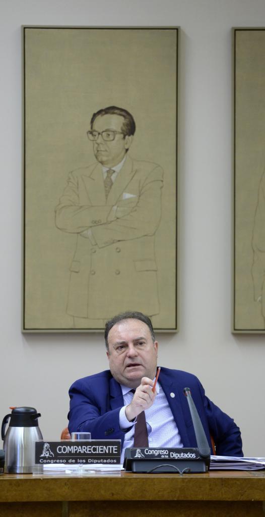 José Luis Olivera, en una comparecencia en el Congreso en 2017.