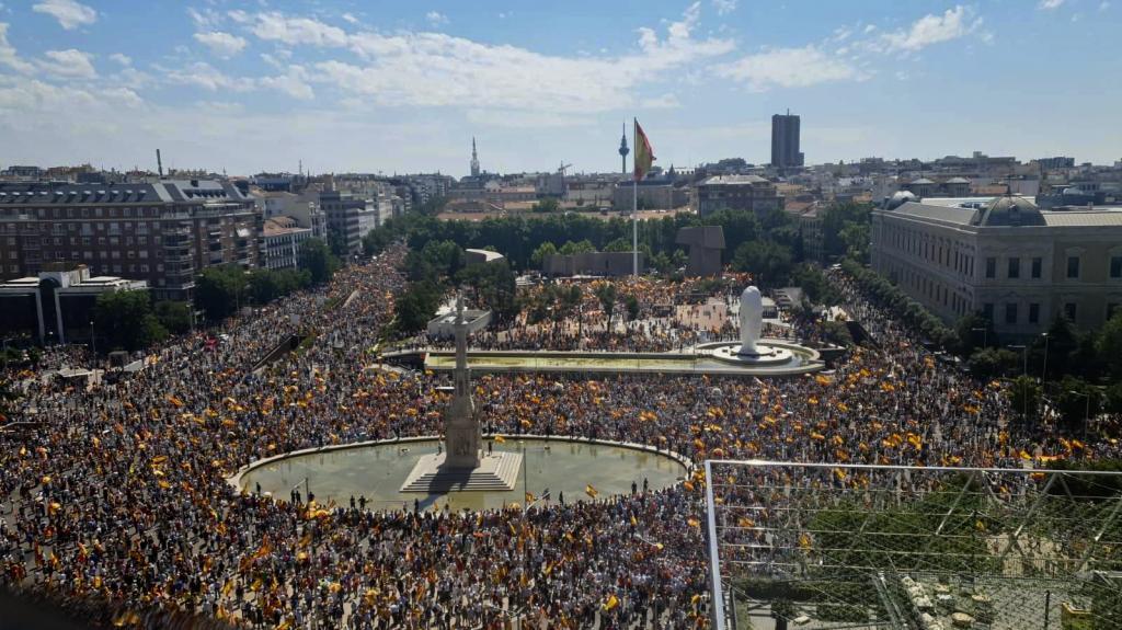 Manifestación del domingo 13 de junio en Colón.