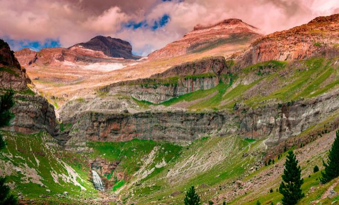 Vista del Parque Nacional de Ordesa.