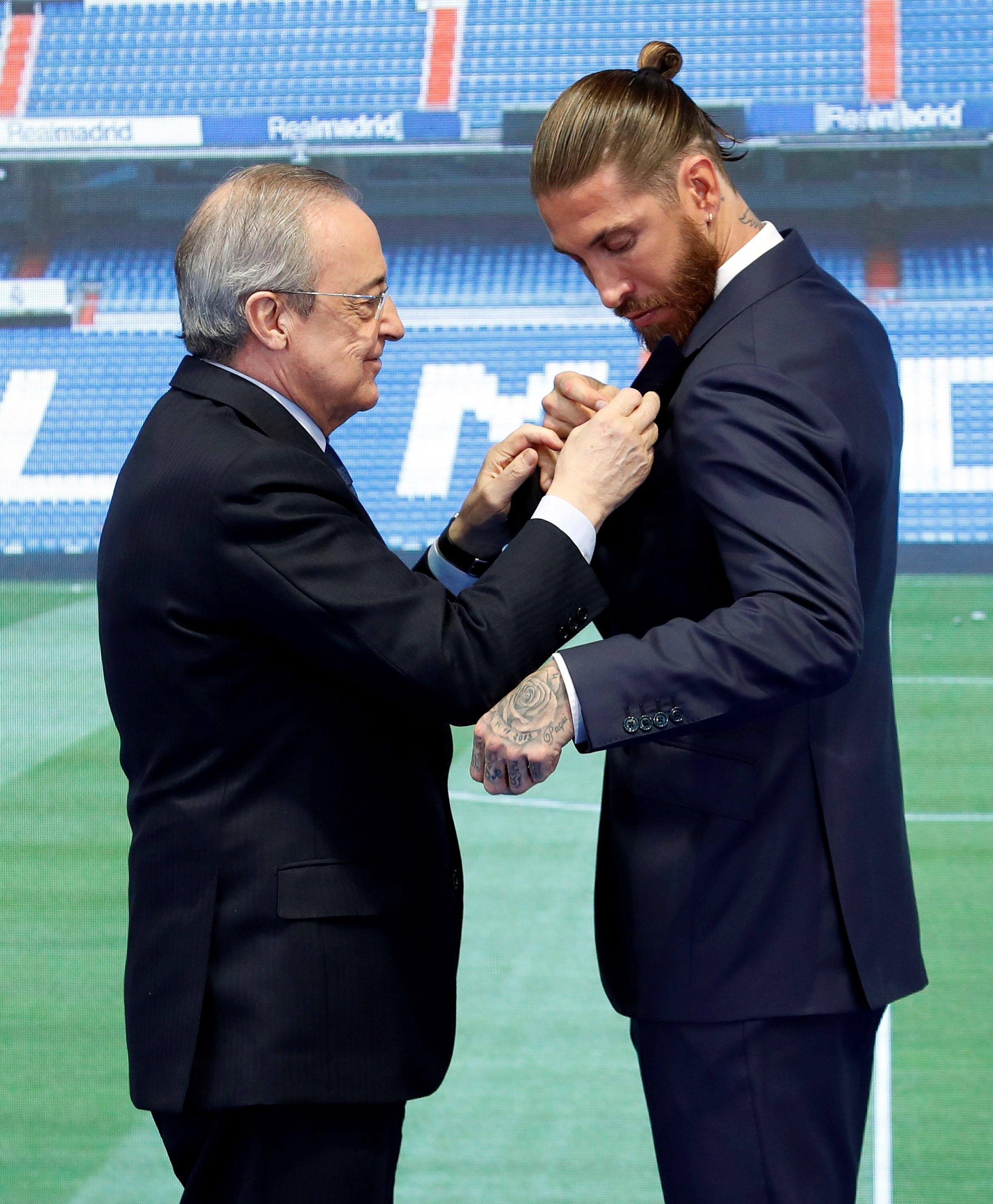 Florentino y Ramos, esta mañana.