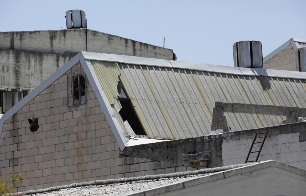 El edificio de Clesa, en 2012, ya abandonado.