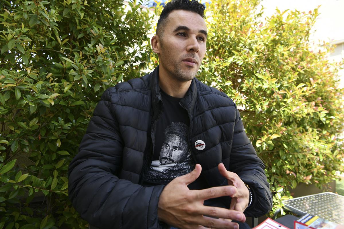 El activista rifeño Jamal Mouna.