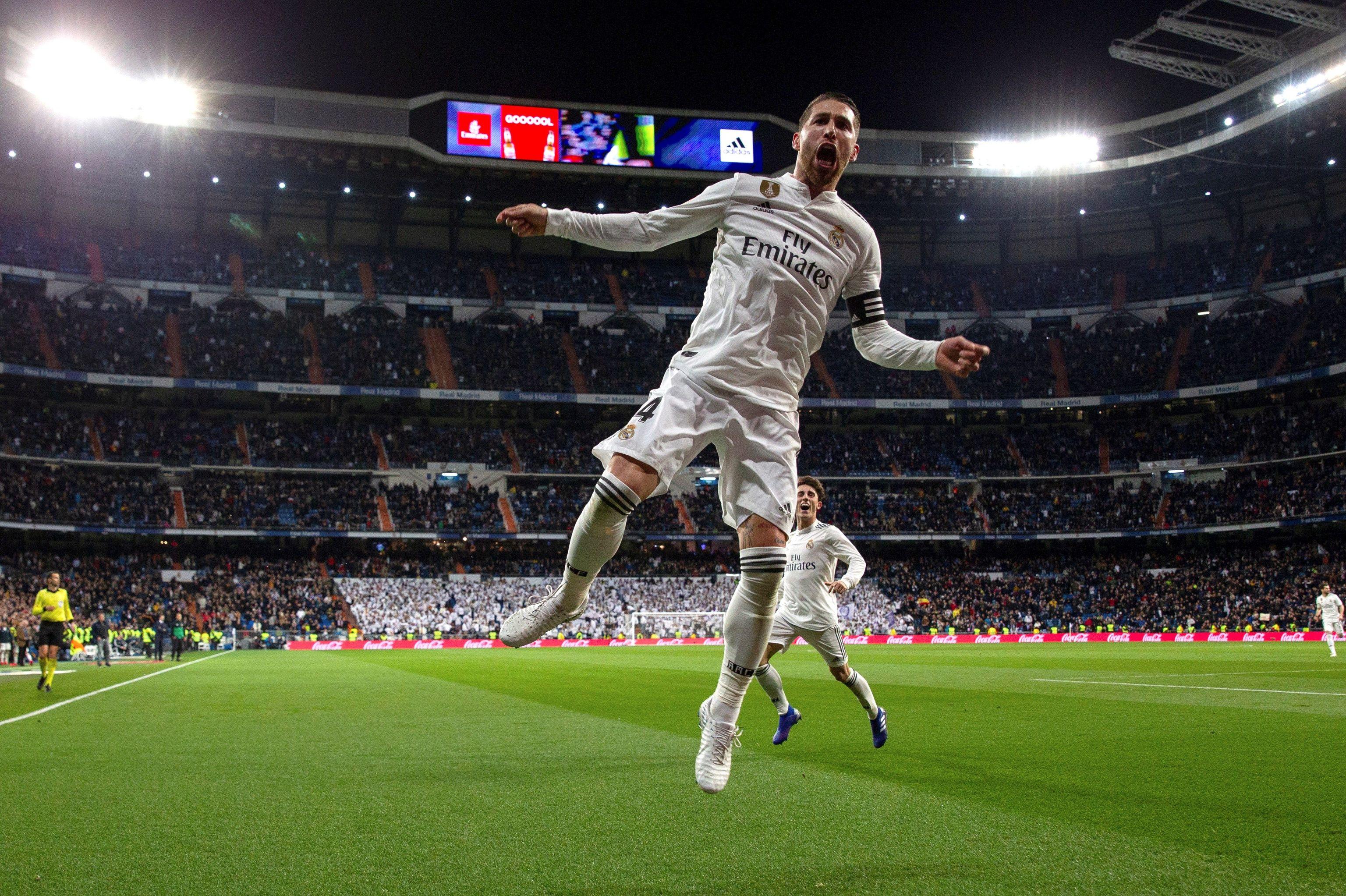 Sergio Ramos o la alegría salvaje