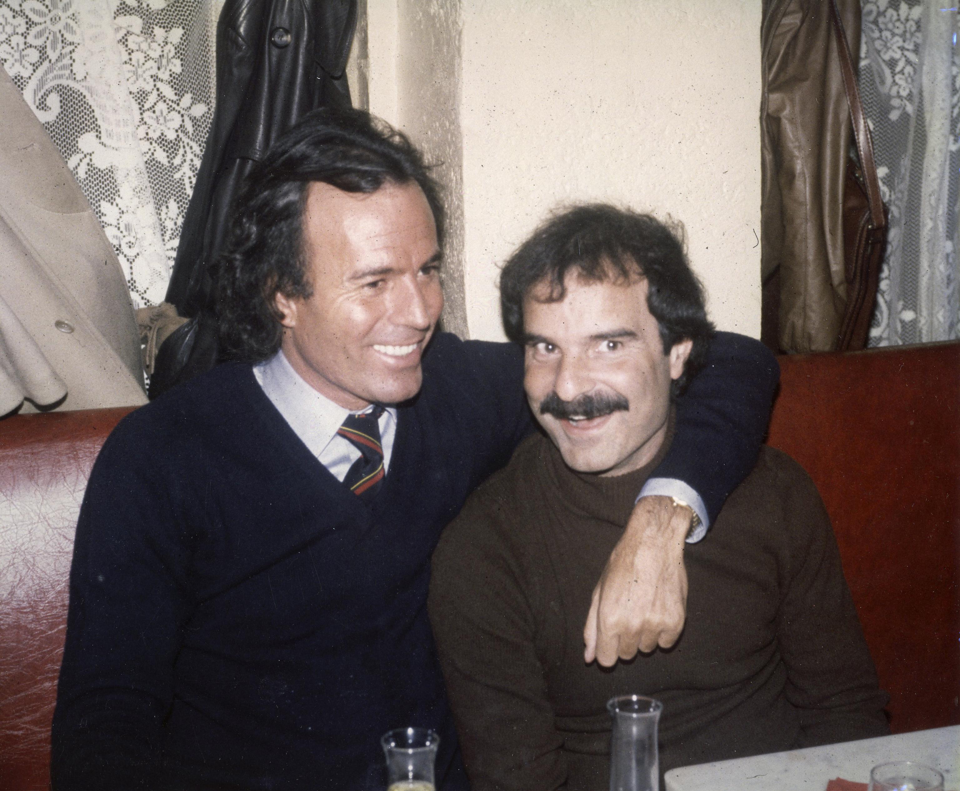 Julio Iglesias y Jesús Mariñas