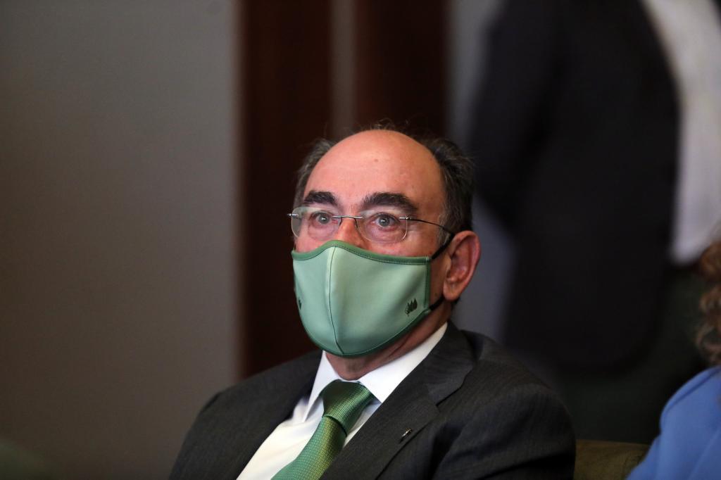 Ignacio Sánchez Galán, el pasado 1 de junio, en un desayuno informativo.