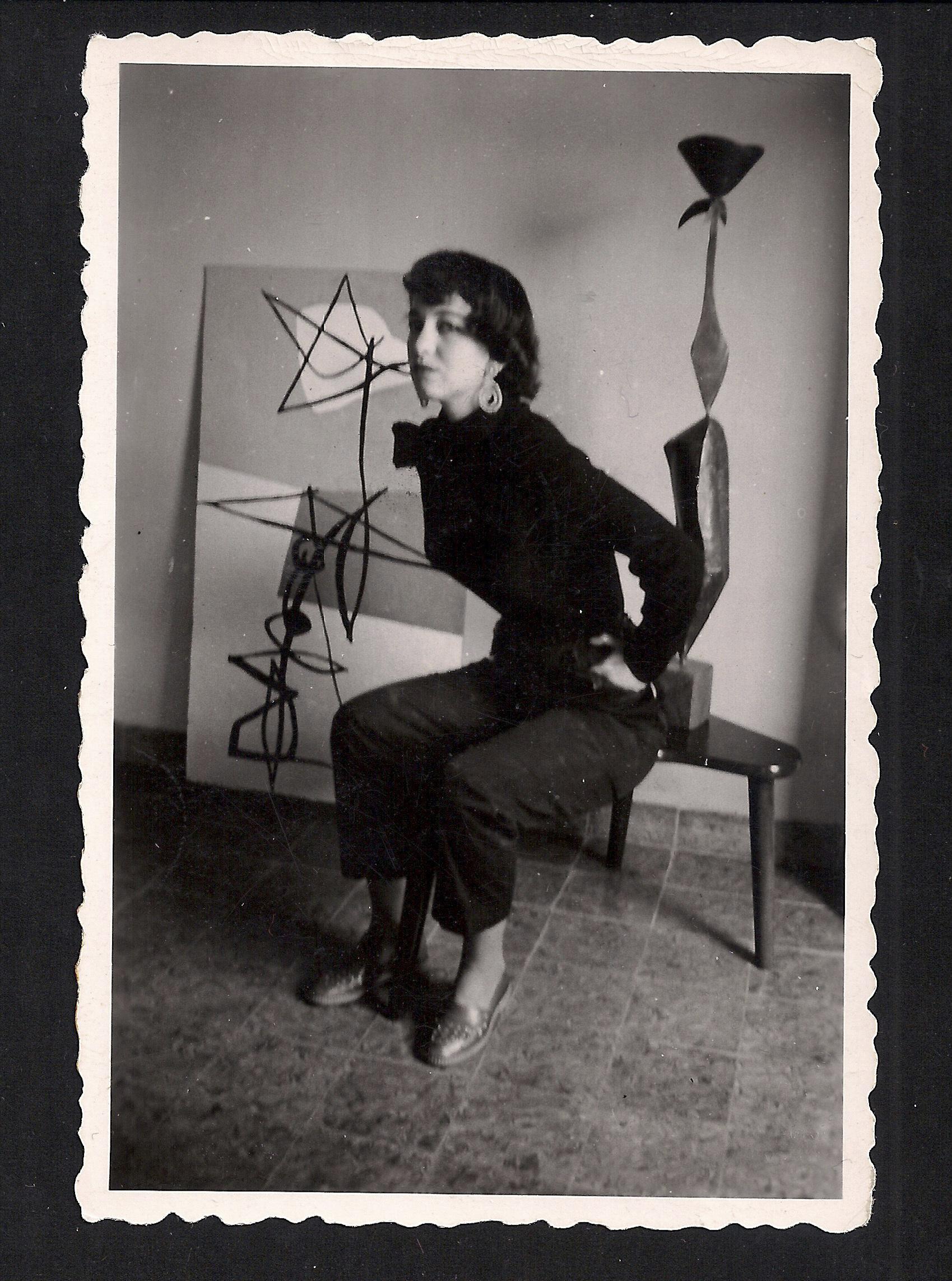 Imagen de la exposición de Martín Chirino