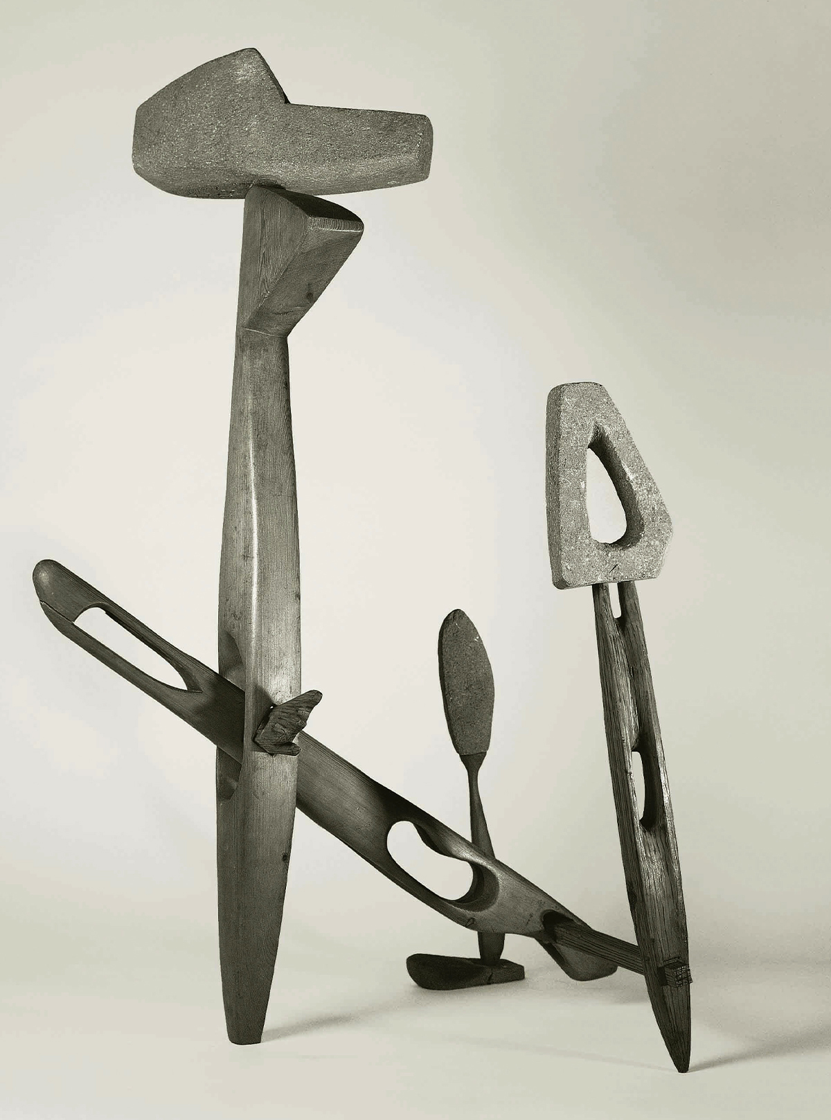 Imagen de la exposición de Martín Chirino.