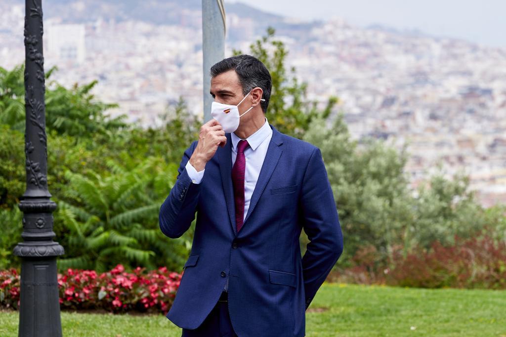 Pedro Sánchez, en un acto celebrado este viernes en Barcelona