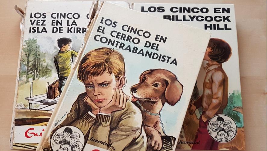 Las aventuras de 'Los Cinco', editadas en los años 60 por Editorial Juventud.