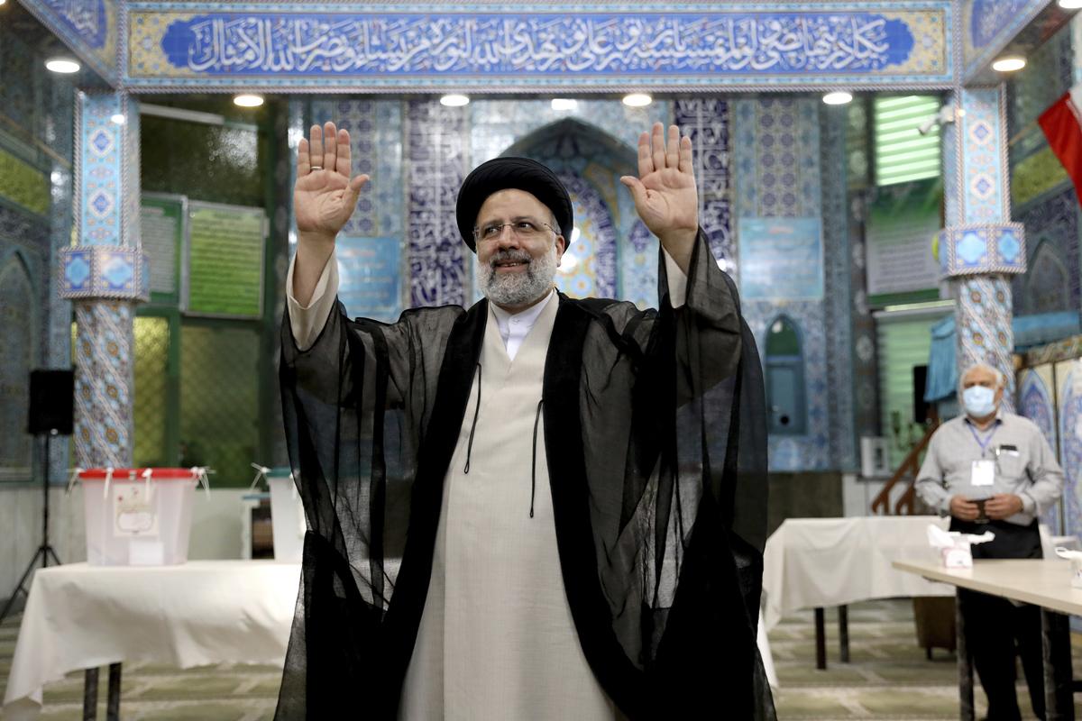 Ibrahim Raisi en Teherán.