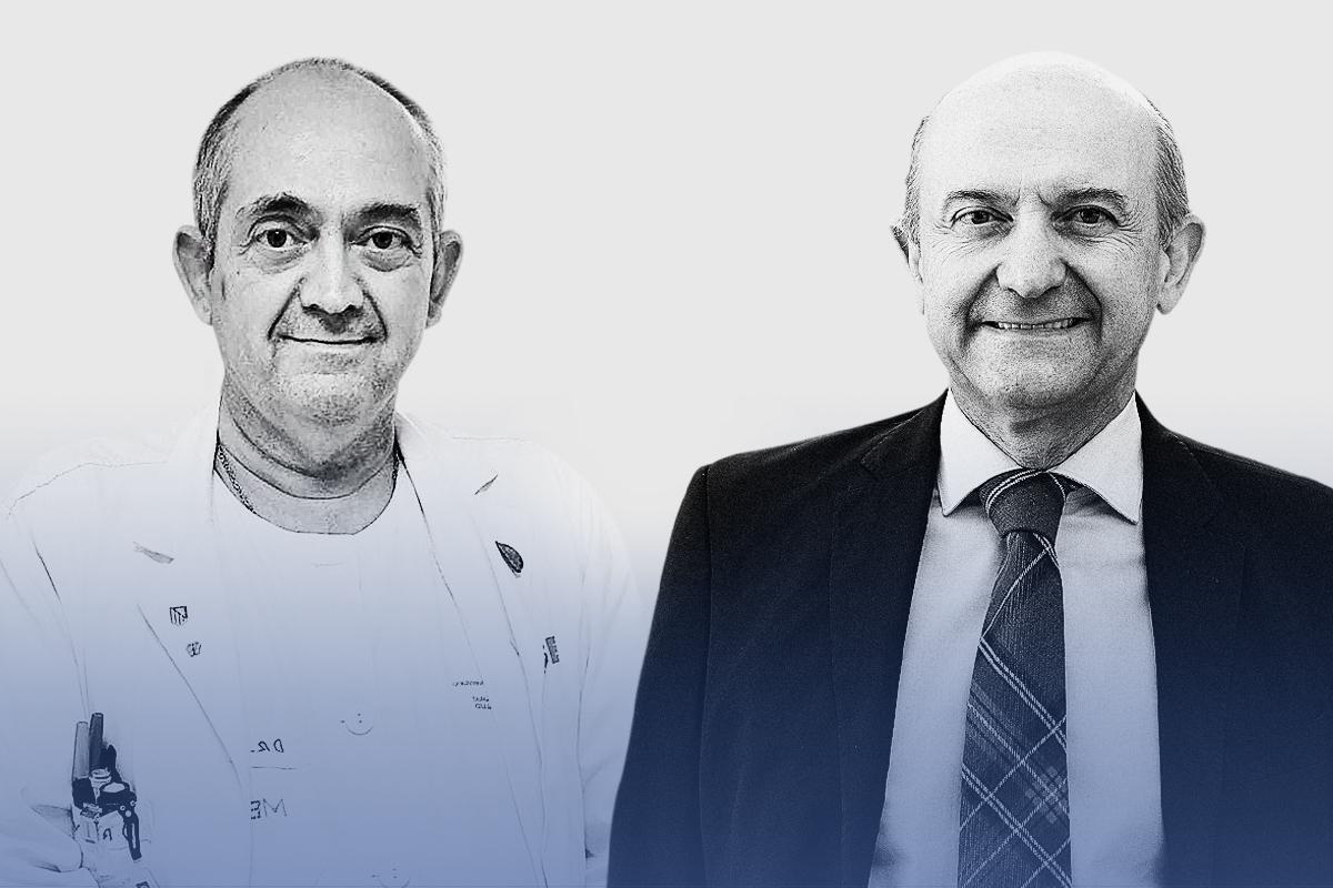 Julio (izq.) y Miguel Ángel (der.) Martínez-González.