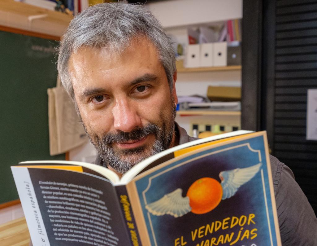 El editor de Pepitas de Calabaza, Julián Lacalle.