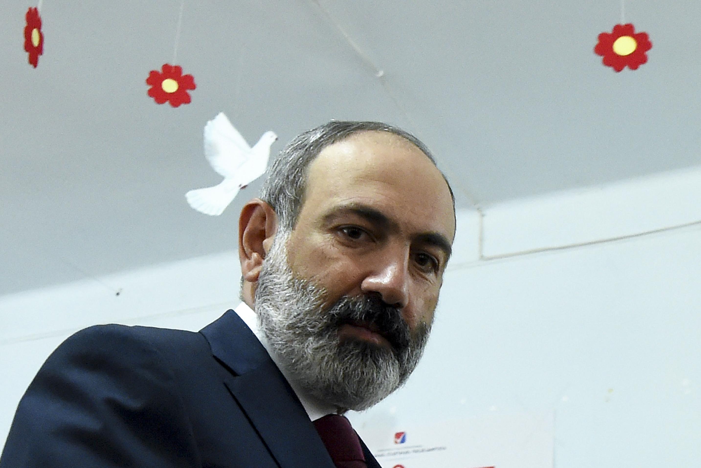 El actual primer ministro, Nikol Pashinyan.