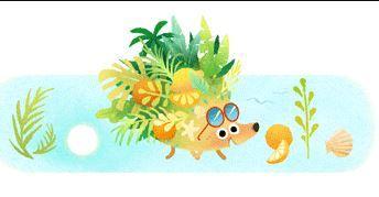 Google celebra el inicio del verano con su tradicional 'doodle'