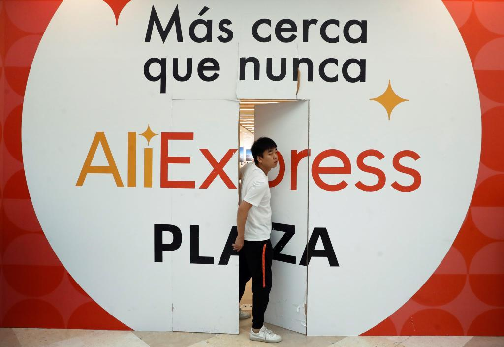 Primera tienda física de AliExpress en Madrid.