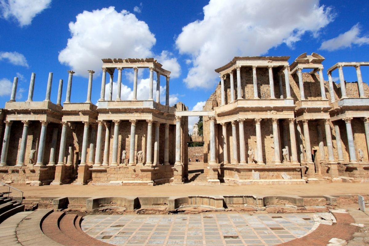Anfiteatro romano (Mérida).