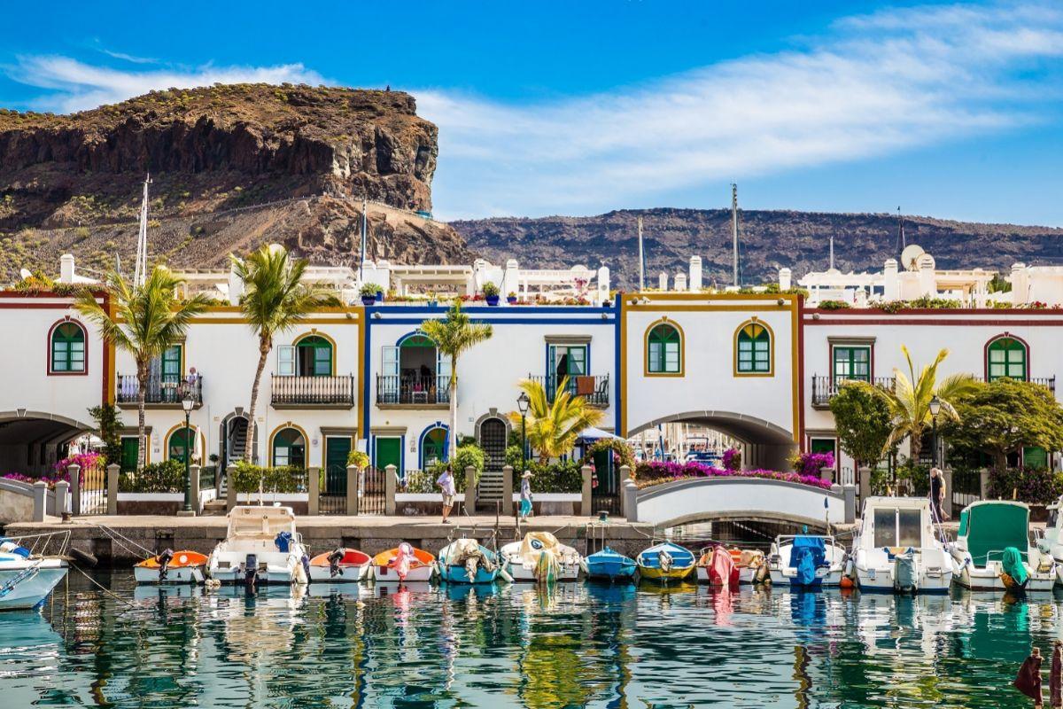 Mogan (Gran Canaria).