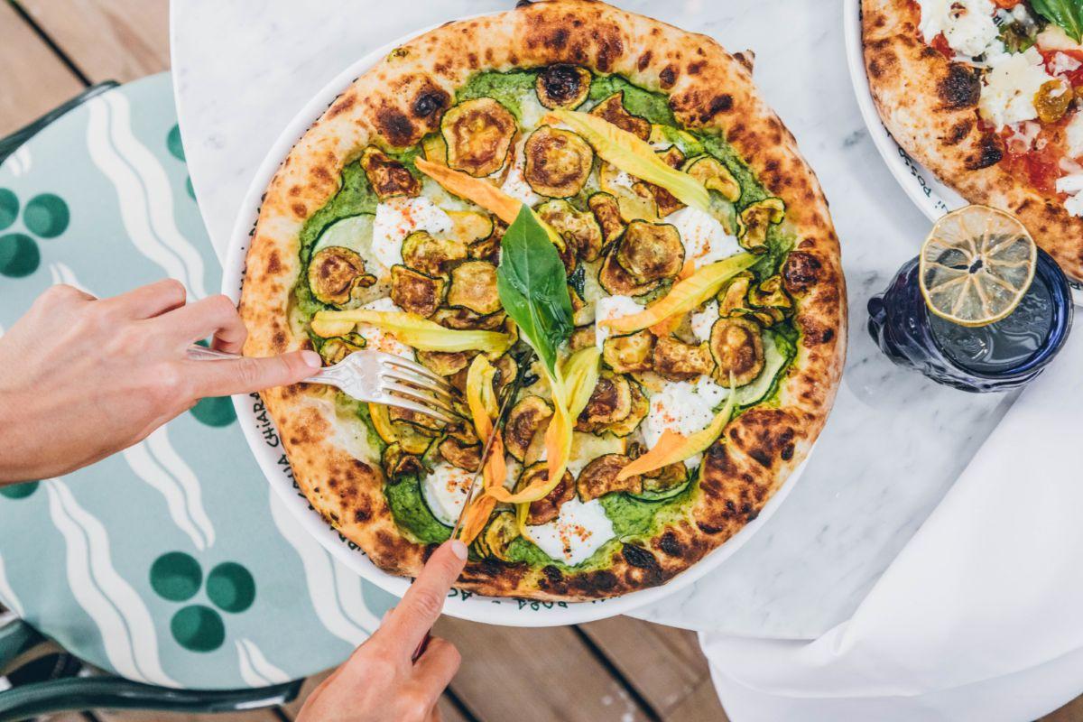 Pizza Zucchine Garden.
