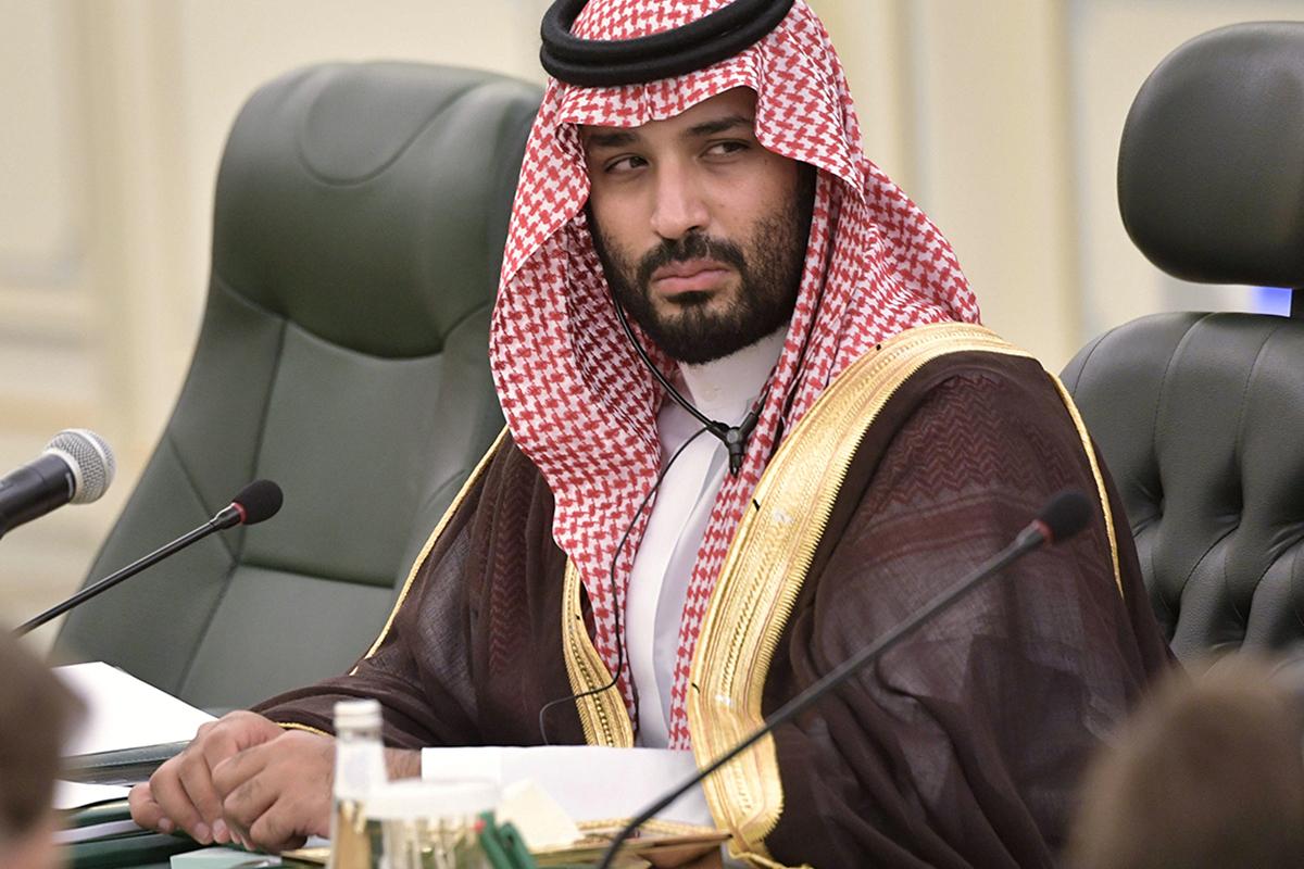 El heredero del trono saudí, Mohammed bin Salman.