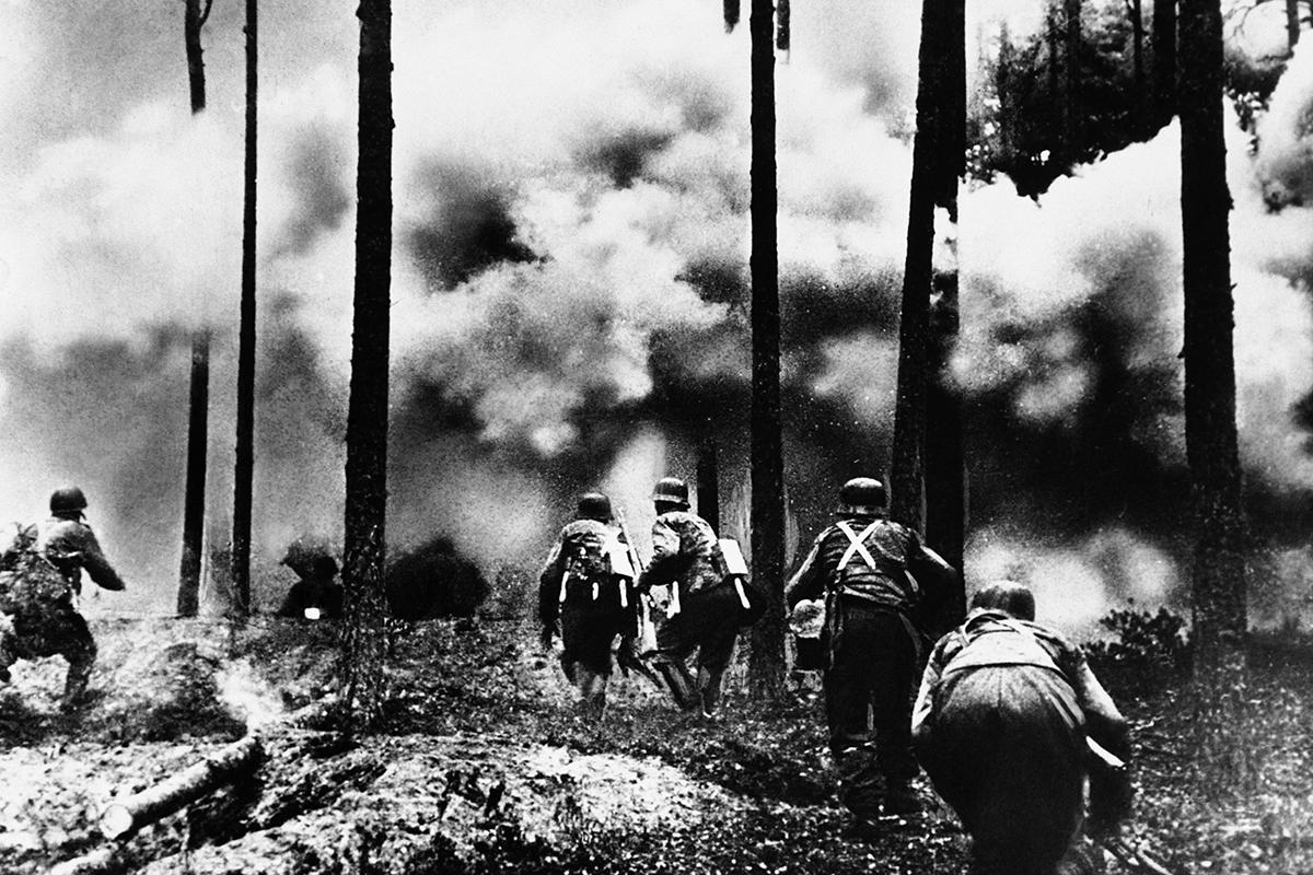 Ofensiva alemana en la frontera con la URSS.
