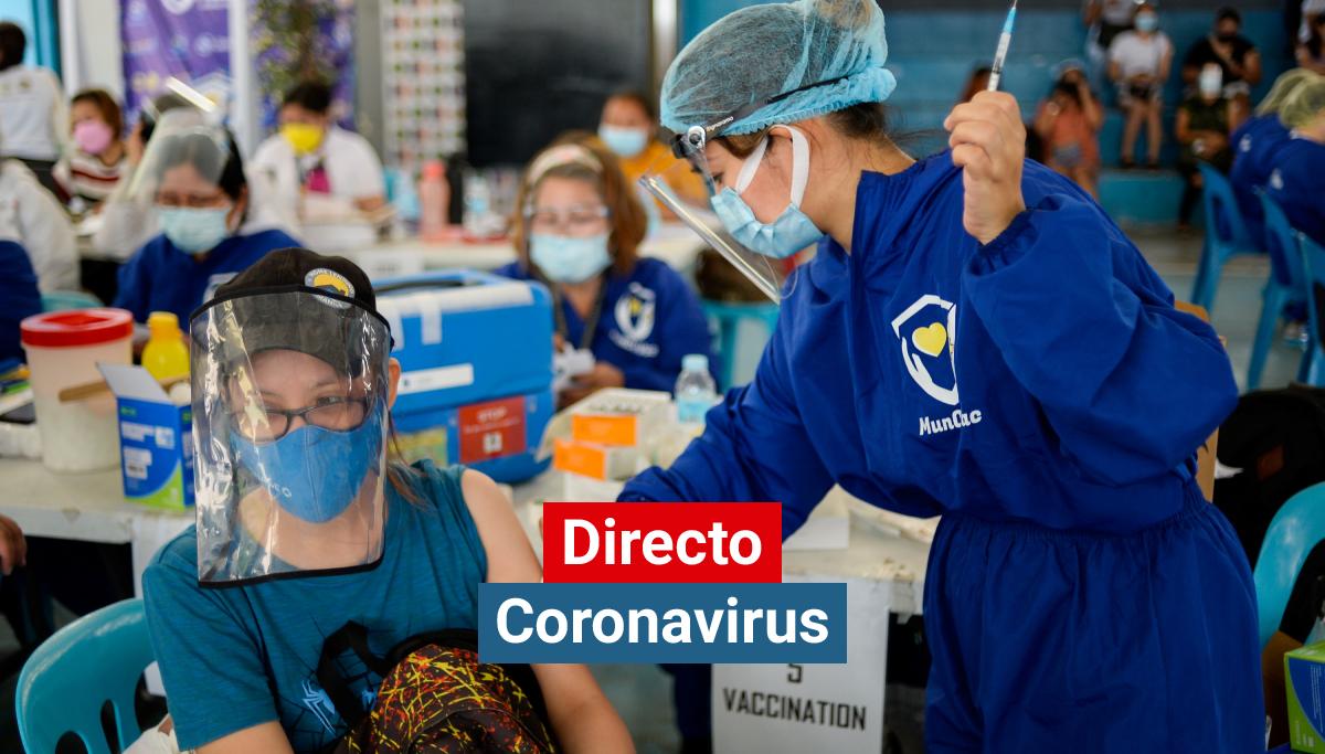 Vacunación contra el coronavirus en Filipinas.