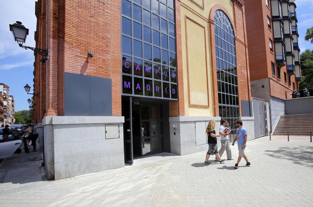 La sede de Google en Madrid.