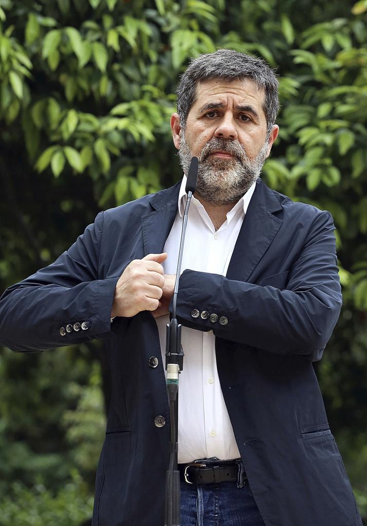 Jordi Sànchez, líder de Junts per Catalunya.
