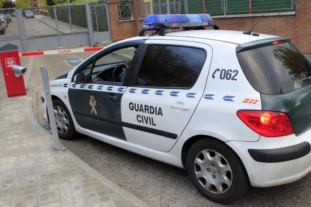 Un coche patrulla de la Guardia Civil.