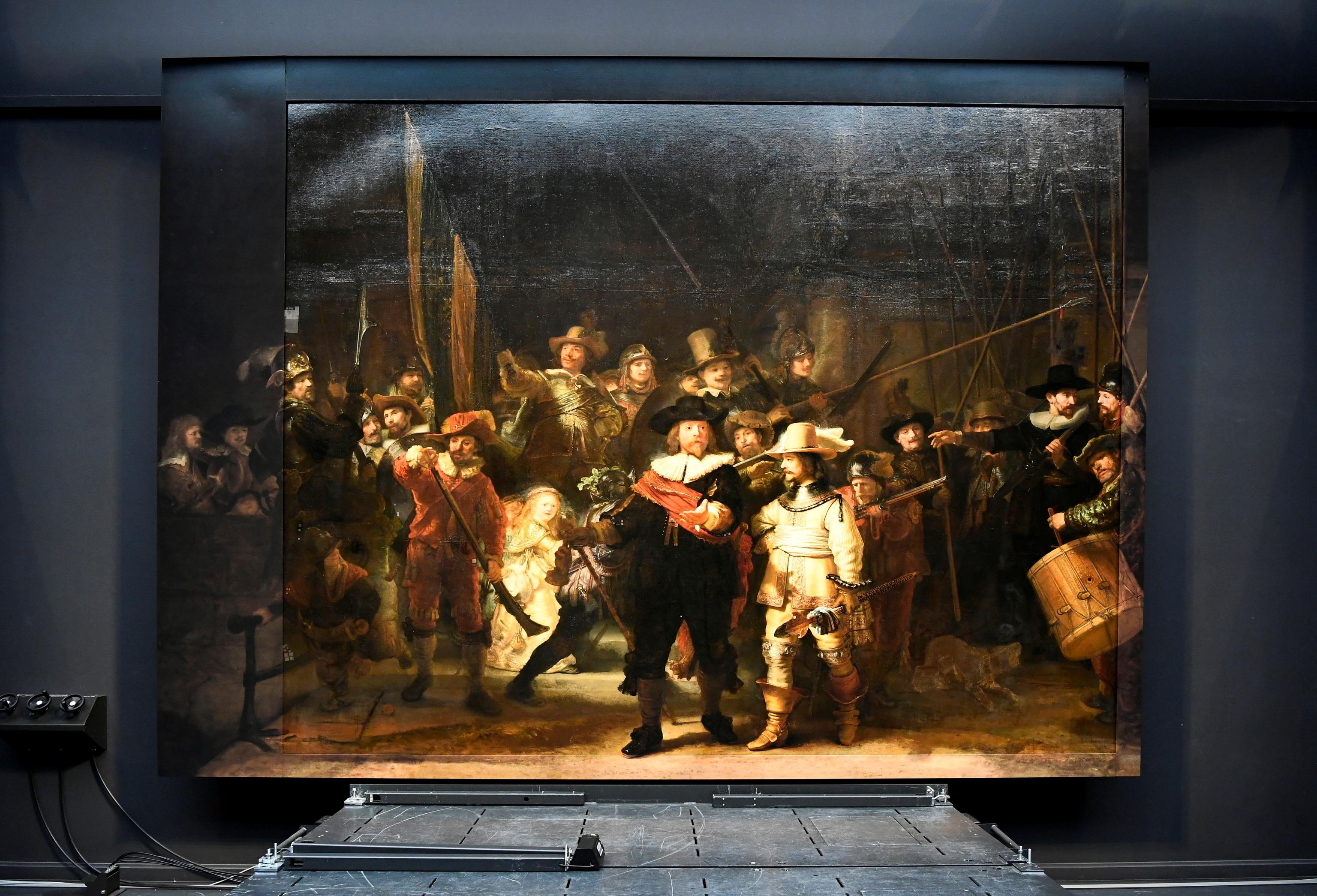 La nueva 'Ronda de noche' de Rembrandt