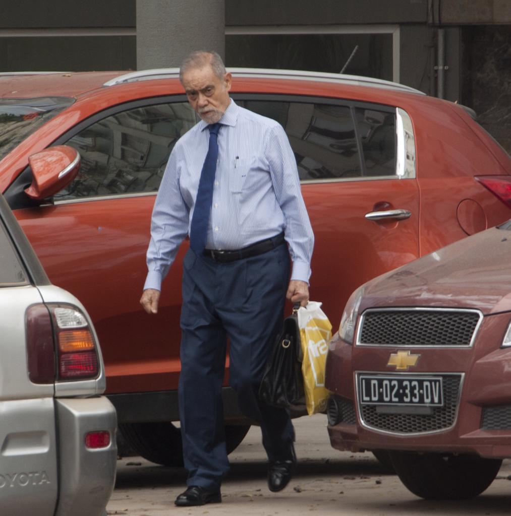 El presunto comisionista fugado, Guilherme Taveira, en Angola