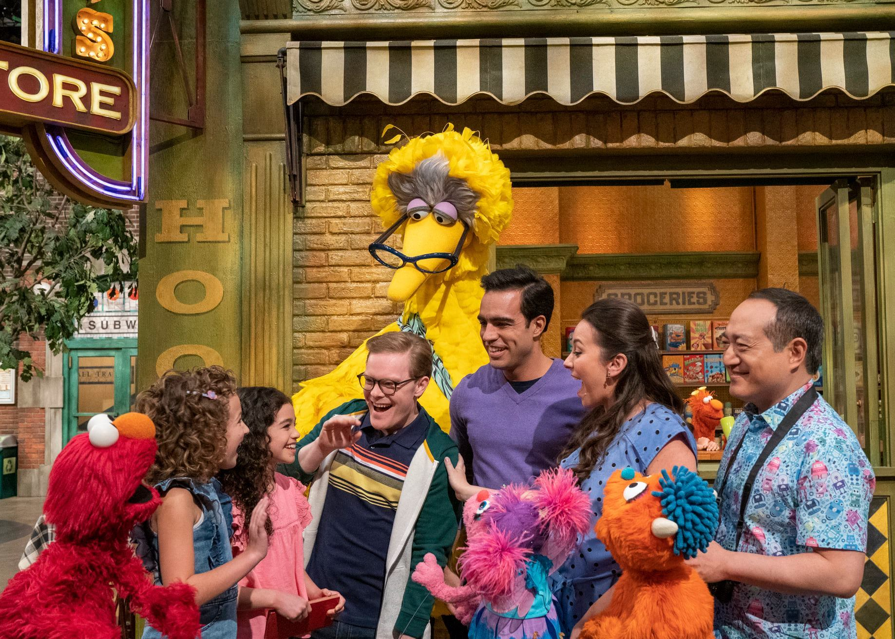 La presentación de Dave y Frank en Sesame Street.