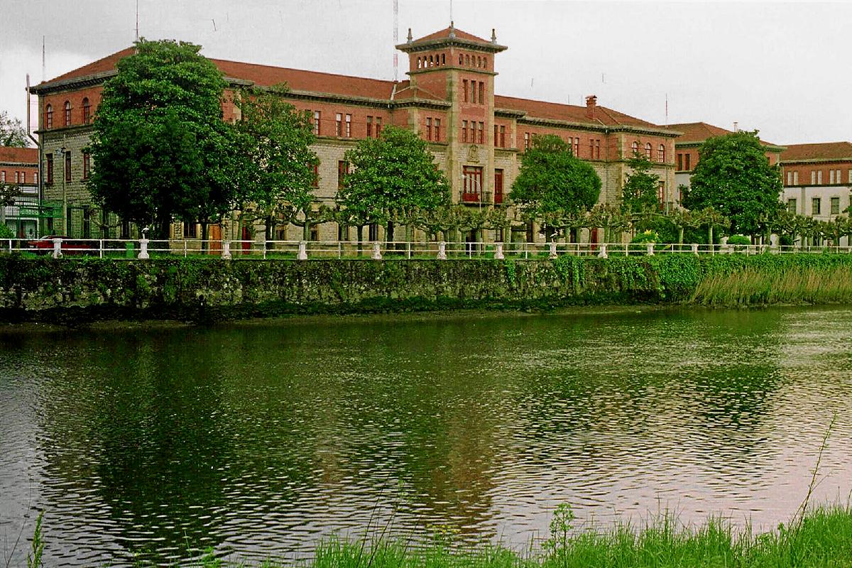El cuartel del Loyola, en Guipúzcoa.