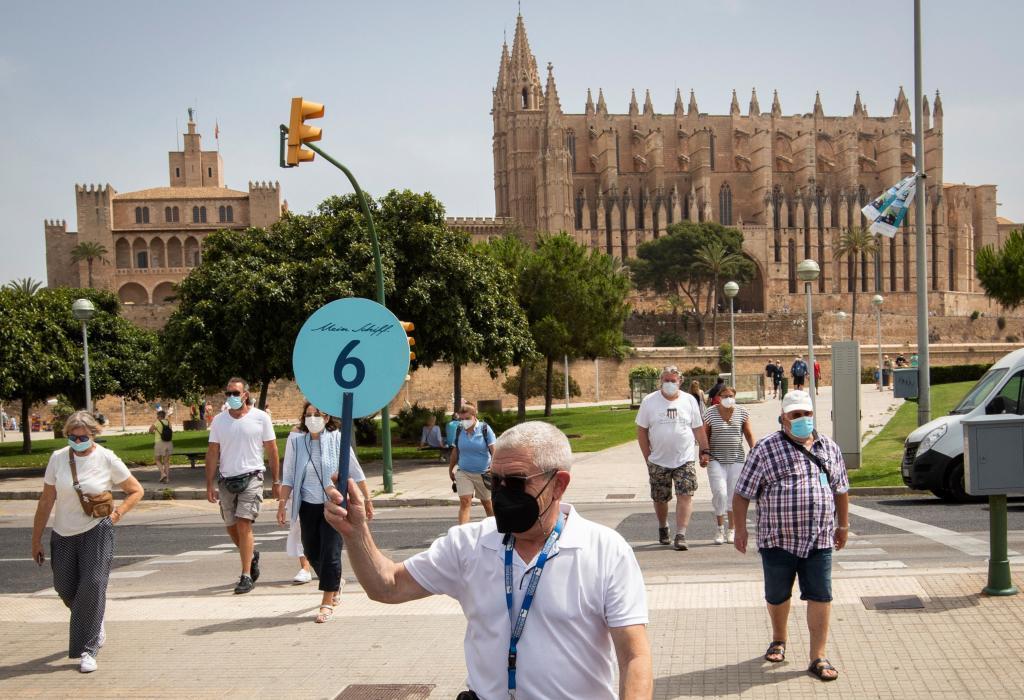 Guías turísticos en Mallorca.