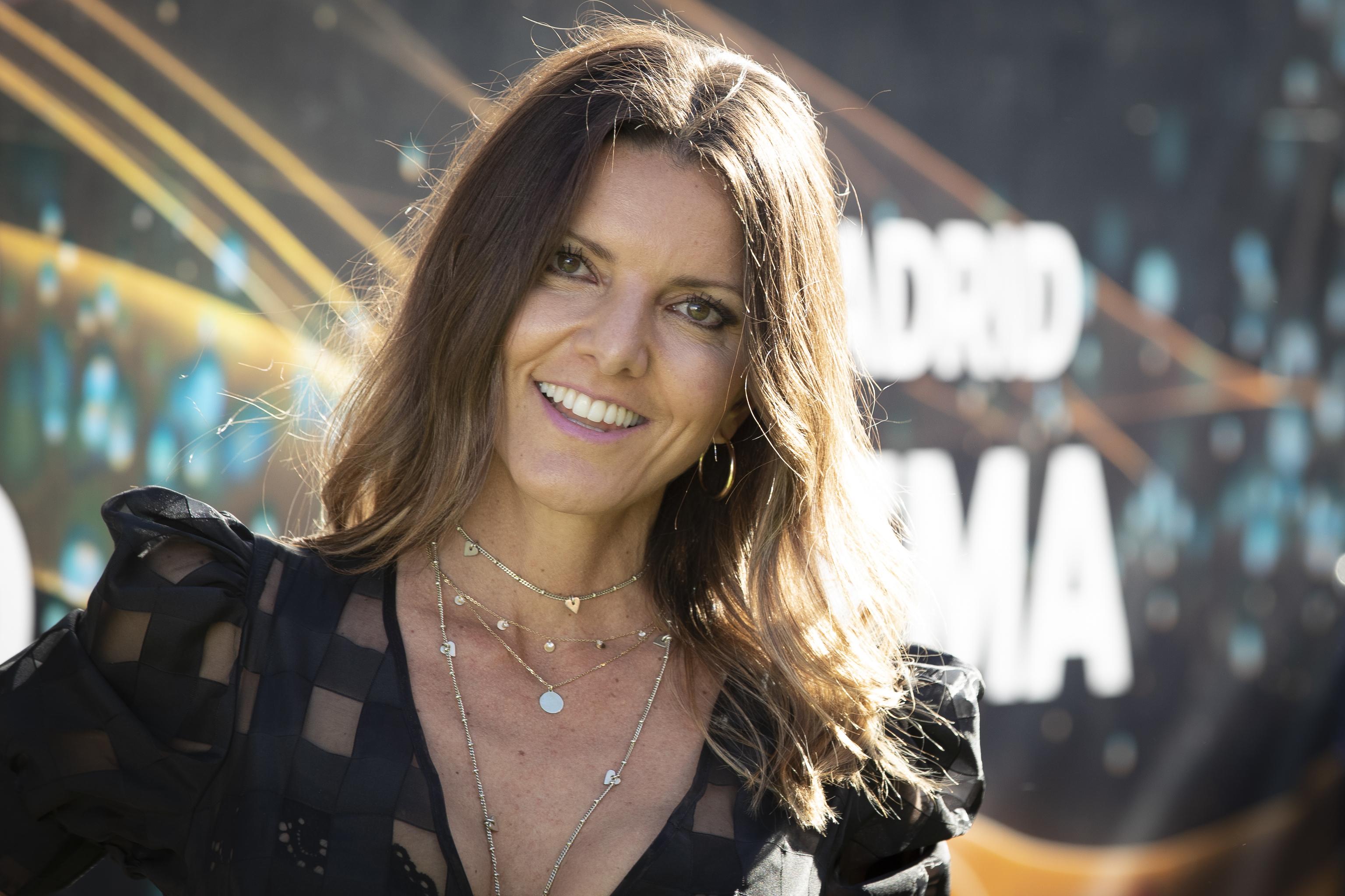 La presentadora Himar González en una foto de 2021.