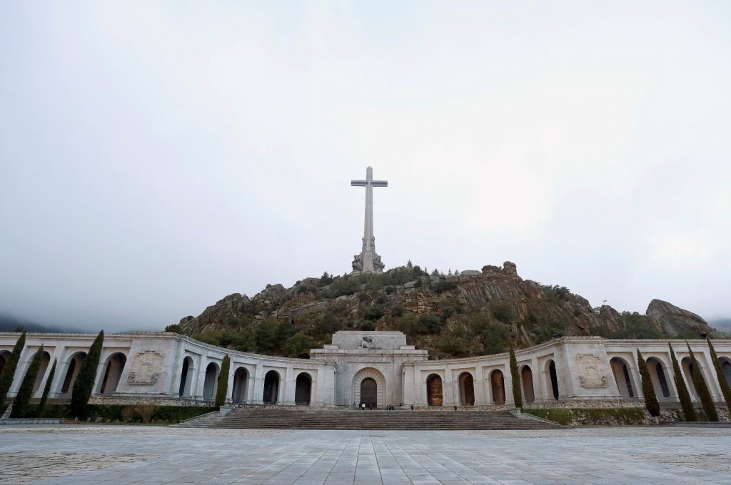 La Basílica del Valle de los Caídos, en el término municipal de El Escorial.