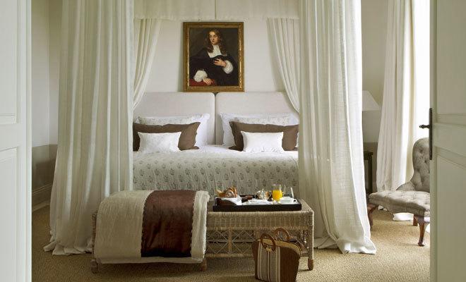 La Suite Cortesín, de 180 metros cuadrados, tiene dos dormitorios.