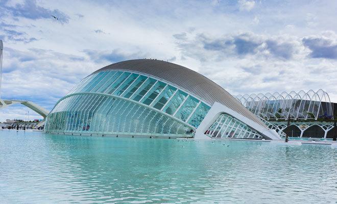 El Oceanográfico de Valencia.